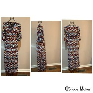 Like New Venus Cold Shoulder Maxi Dress